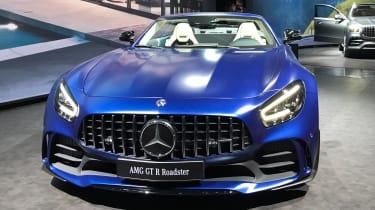 Mercedes-AMG GT R Roadster - Geneva full front