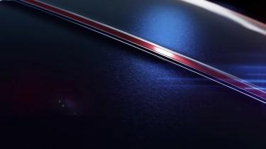 Mercedes concept teaser screengrab rear deck