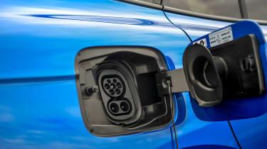 Skoda Enyaq iV 80 Sportline - charging port