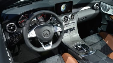 Mercedes C 63 AMG - New York interior