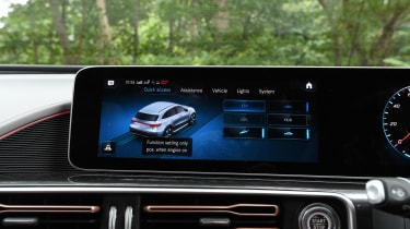 Mercedes EQC - infotainment