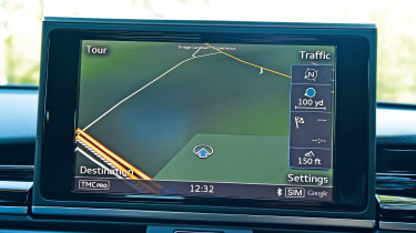 Audi RS7 Performance - sat-nav