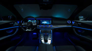 MercedesA-AMG GT four-door Coupe - interior