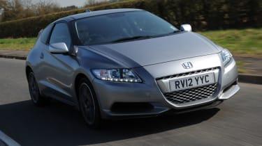 Honda CR-Z front tracking