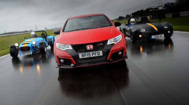 Honda Civic Type R long term - track