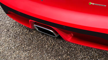 Jaguar F-Type 2.0 T exhaust