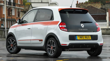 Used Renault Twingo - rear