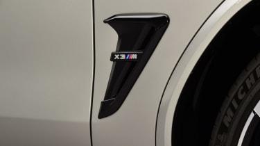 BMW X3M - side detail