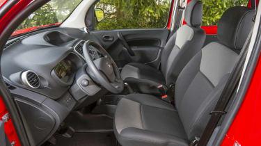 Nissan NV250 interior