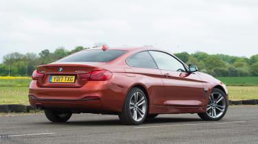 BMW 4 Series - rear static