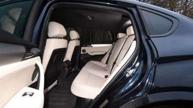 Used BMW X4 - rear seats