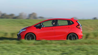Honda Jazz - side action