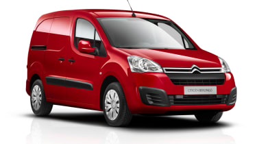 Citroen Berlingo Van 2015 facelift - front