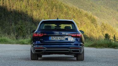 Audi A4 Avant 2019 rear