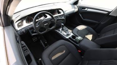 Audi A4 FitCar PPV cockpit