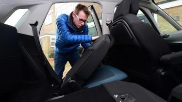 Citroen C4 Picasso long-termer - seats folding