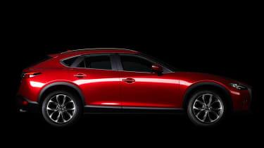 Mazda CX-4 side