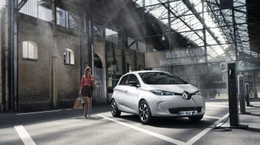 Renault Zoe 2017 - parked