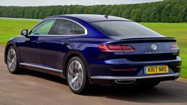 Twin test - VW Arteon - rear
