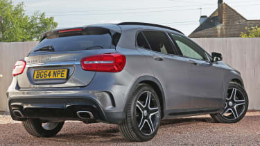 Used Mercedes GLA - rear
