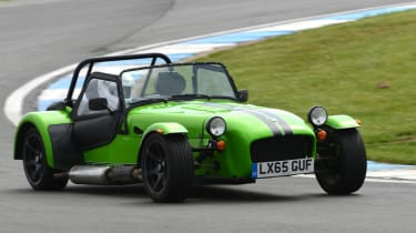 Long-term test review: Caterham 270S - fourth report front cornering
