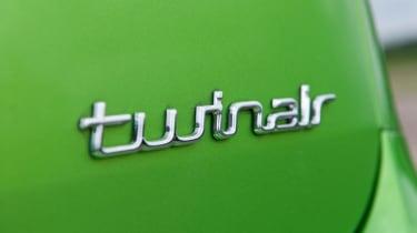 Fiat Punto TwinAir badge