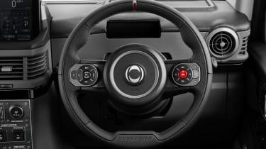 Ineos Grenadier - steering wheel