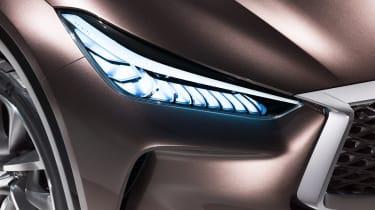 Infiniti QX50 Concept - headlight