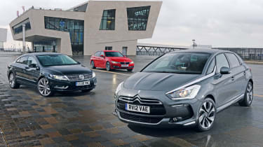 Citroen DS5 vs rivals
