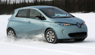Renault Zoe front tracking