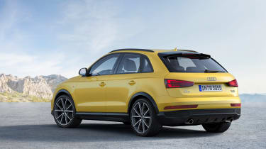 Audi Q3 Black Edition rear side
