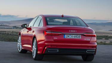 New Audi A6 - rear static