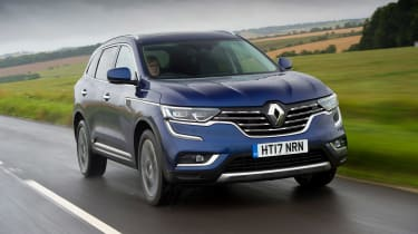 Renault Koleos - front action