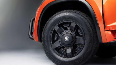 Skoda Mountiaq - wheel