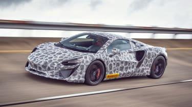 McLaren Artura - spyshot 1