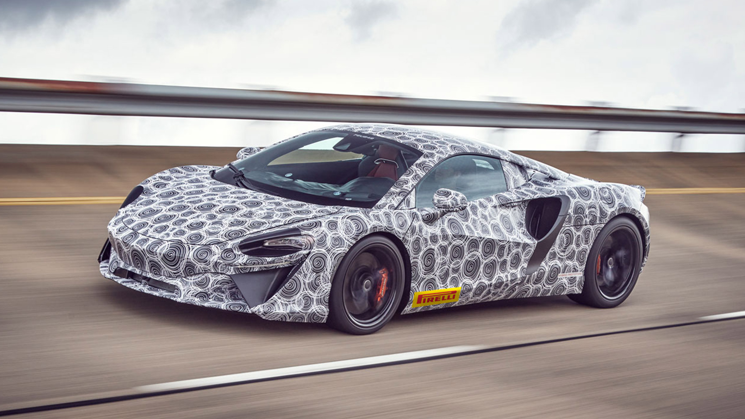 New 2021 McLaren V6 hybrid supercar confirmed   Auto Express