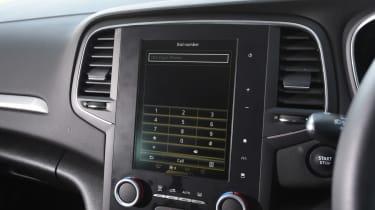 Renault Megane Sport Tourer - centre console