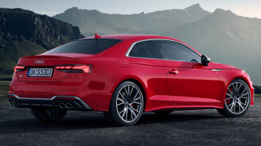 2019 Audi S5 - rear 3/4 static