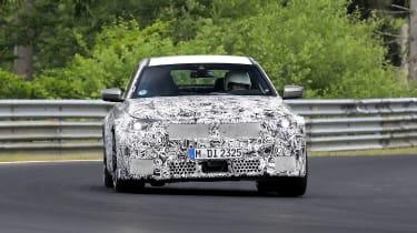 BMW M2 spy - front