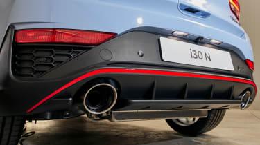 New Hyundai i30 N 2021 - exhaust
