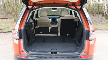 Land Rover Discovery Sport long-term - boot