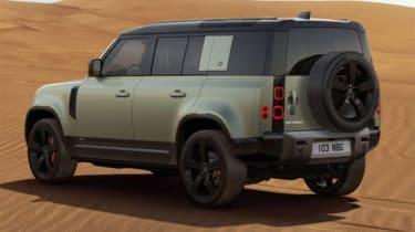 Jake Weaver Land Rover Defender rear