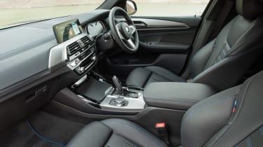 BMW X3 - cabin