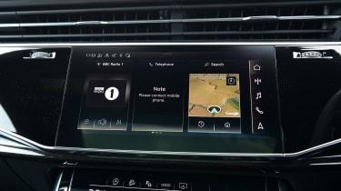 Audi SQ8 - screen