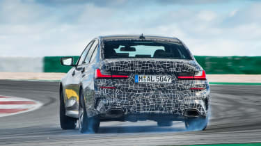 BMW M340i xDrive prototype - rear drift