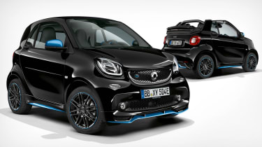 Smart EQ ForTwo and ForTwo Cabrio - front
