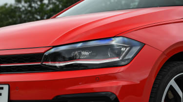 Volkswagen Polo GTI - front light