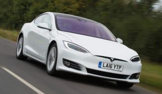Tesla Model S - best low emissions green cars