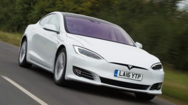 Tesla Model S - best low emissions green cars