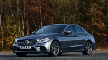 Mercedes C-Class - front static